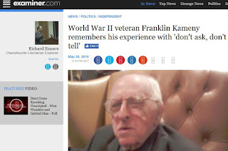 Franklin Kameny Gay Is Good gay rights DADT Rick Sincere WWII
