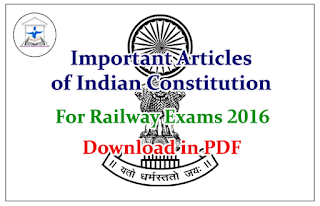 important articles of the indian constitution Important articles of indian constitution for upsc the constitution of india is regarded as the supreme law of the land in india it is an existing document and an instrument that makes the government system work.