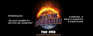 Concurso Cultural Black Sabbath no Rio