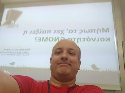 FOSSCOMM GNOME presentation
