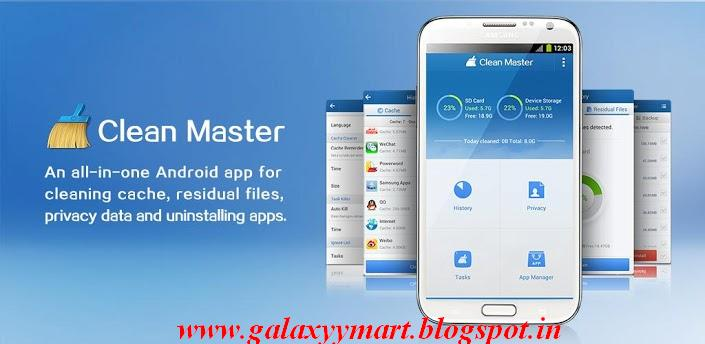 Free Download Clean Master ( Cleaner ) ~ Galaxy Y Mart