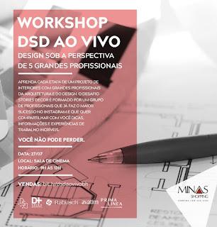 Minas Shopping promove workshop com designers de interiores