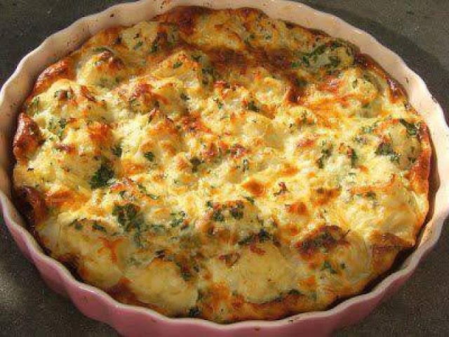 3ijjit Qarnabit (Cauliflower Omelet)