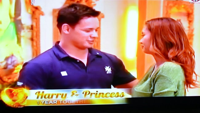 Couple Harry and Princess on Realiserye 'I Do' of ABS-CBN