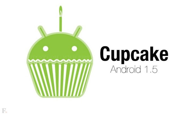 Android Cupcake (Android Versi 1.2-1.5)