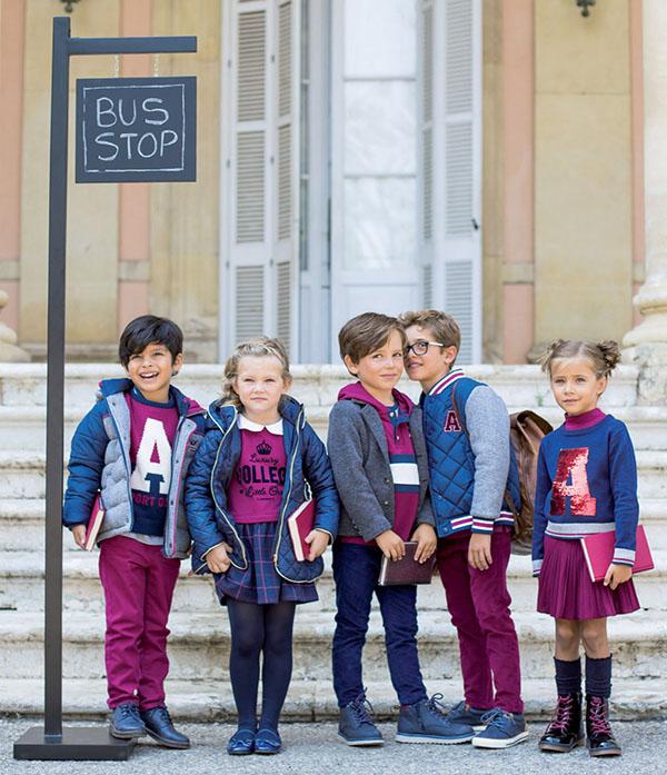Moda niños otoño invierno 2018 ropa para niños y niñas. Moda 2018.