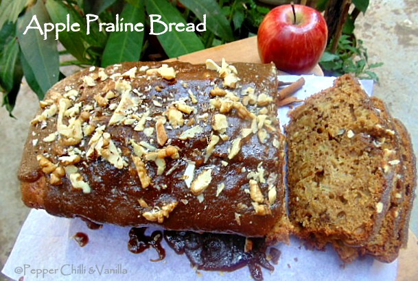how to make a praline cake,apple walnut praline cake