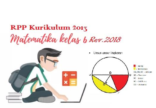 RPP kurikulum 2013 kelas 6 revisi 2018