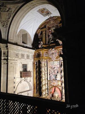 Torres Clerecía altar mayor