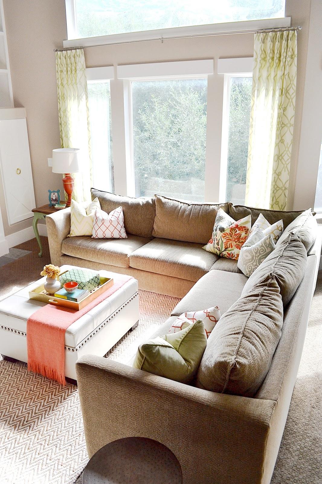 Sita Montgomery Interiors: Sita Montgomery Interiors: My New Home: Basement Family Room