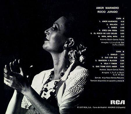 Las Mejores De Los 70 80 90 Rocío Jurado 1977 Amor Marinero