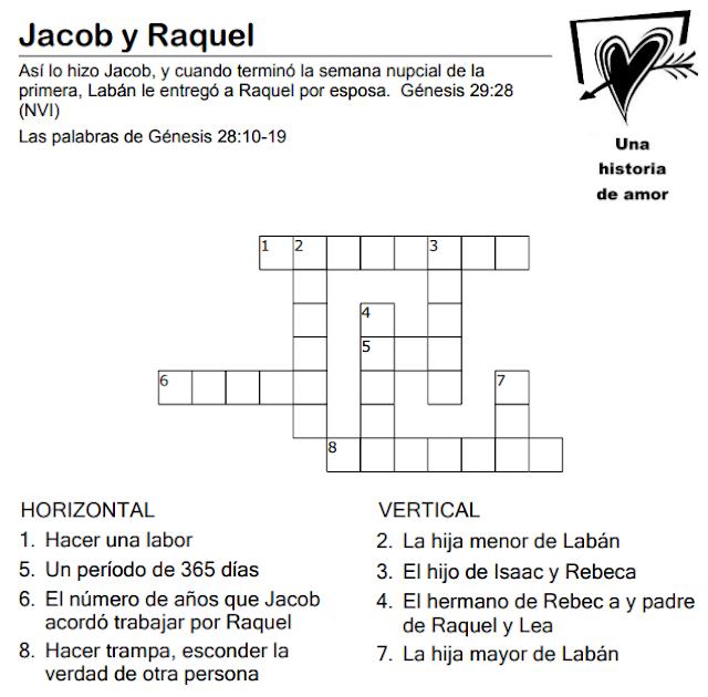 JACOB | ESCUELA DOMINICAL PARA ZAHAYED, ANA SOFÍA, MARÍA ISABEL ...