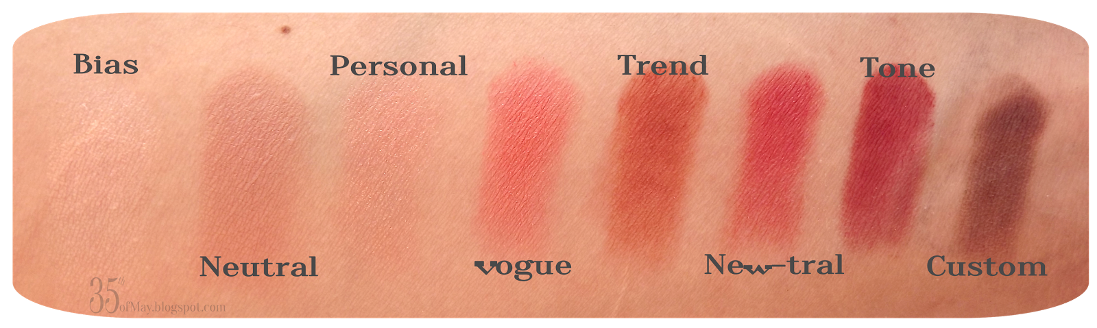 Makeup Revolution New-trals vs Neutrals Palette review swatch
