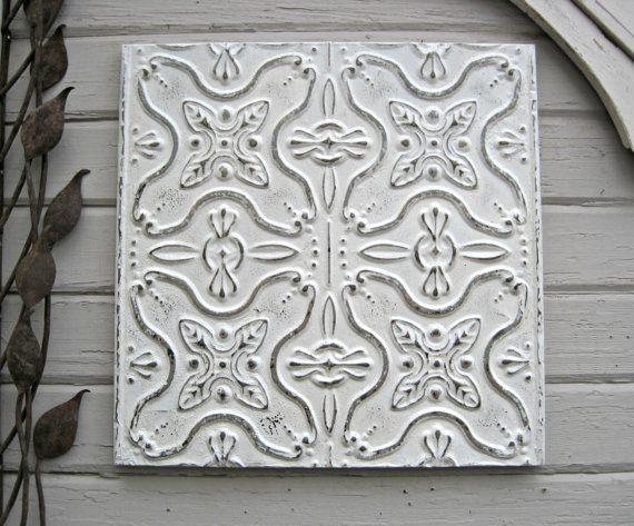 antique ceiling tin tiles clean crisp white tin ceiling