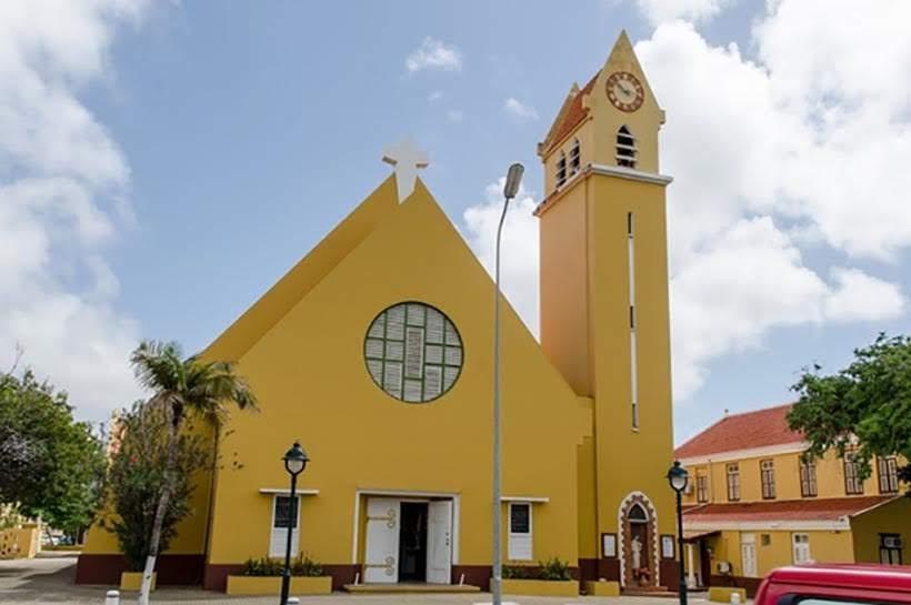 St. Bernard Church - o que fazer em Bonaire. Foto: Divulgação Turismo de Bonaire