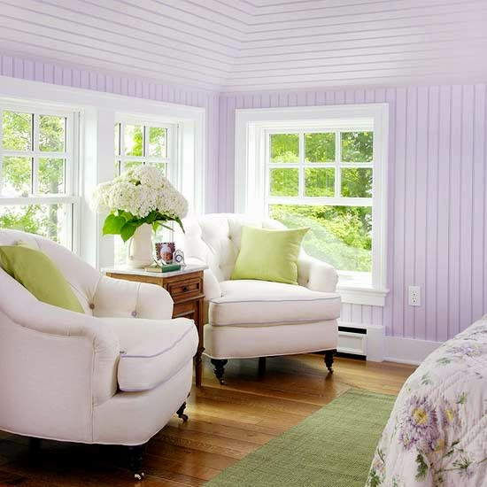 Green And Purple Room: Eye For Design: Decorating With The Purple/Green Combination
