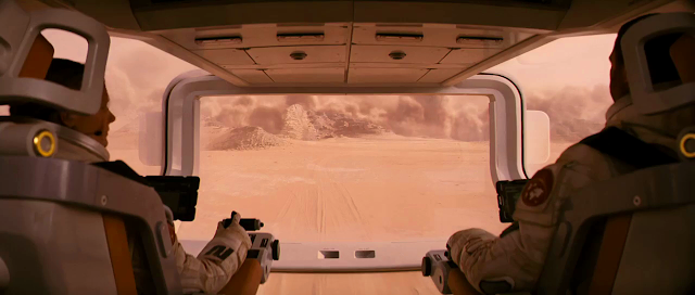 Rover cockpit from The last days on Mars movie