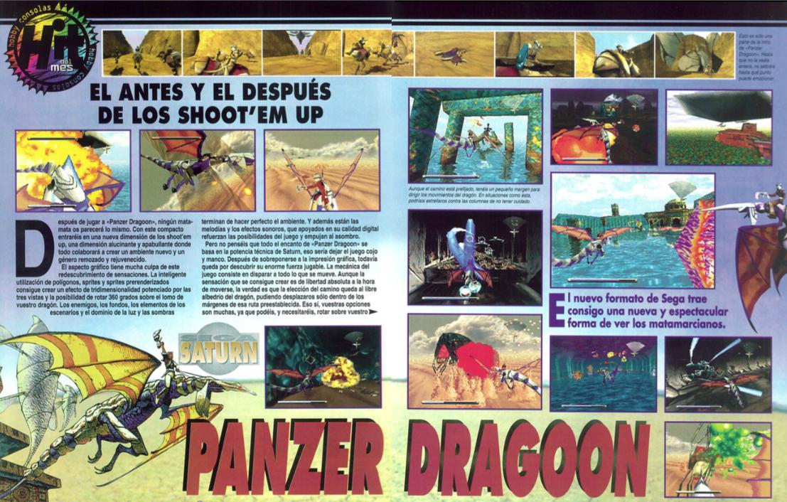 análisis panzer dragoon