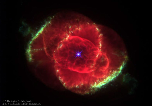 Hubble Tangkap Keindahan Nebula Mata Kucing