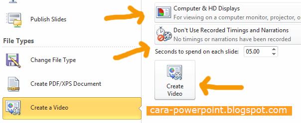 Cara Ubah Powerpoint Menjadi Video