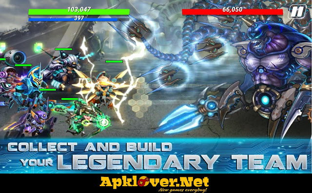 Heroes Infinity MOD APK unlimited money
