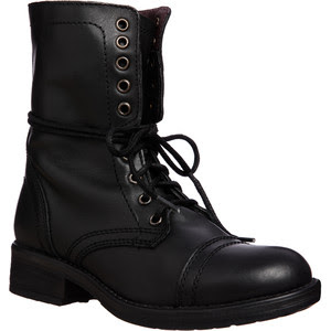 Steve Madden Tropa2 Lace Up Boots
