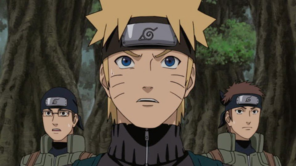 Naruto en Isla Tortuga