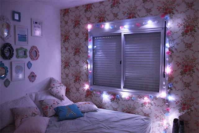 decoração-de-quarto-com-luzes-pisca-pisca