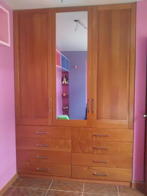 Closet de madera en Magdalena