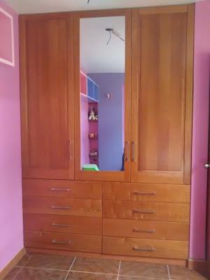 Closet de madera en San Isidro