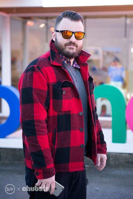 como usar camisa xadrez masculina no frio