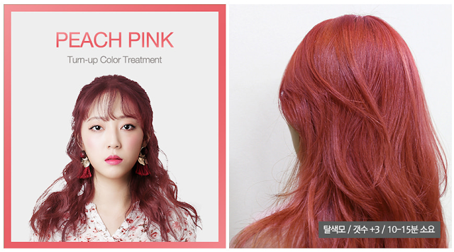 APRIL SKIN TURN-UP COLOR peach pink