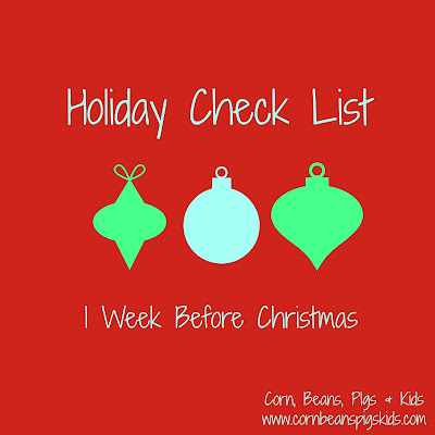 Holiday Survival Guide from a Mom of 4 - Organize and Make a Plan