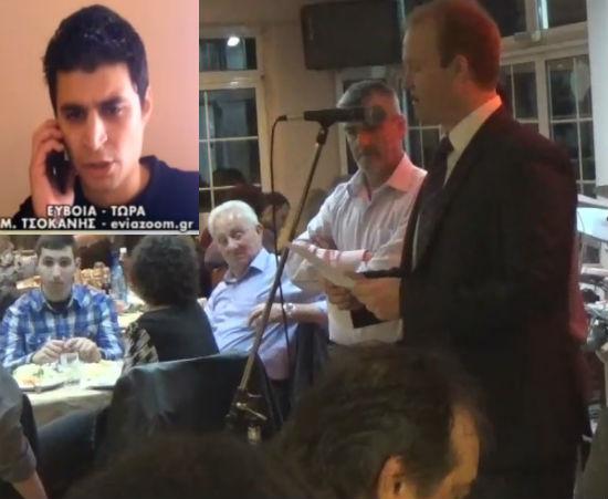 Μιχάλης Τσοκάνης: Γιατί τον ευχαρίστησε δημόσια ο Πολιτιστικός Σύλλογος Γλυφάδας; (ΒΙΝΤΕΟ)