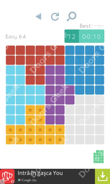 Cheats, Walkthrough for Blocks and Shapes Level 64