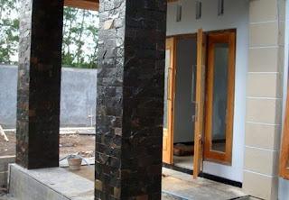 model tiang teras minimalis