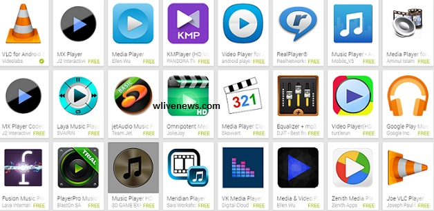 Media Players Available for Smartphones