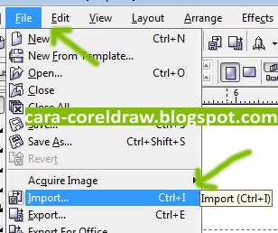 Cara Membuat Label CD Corel