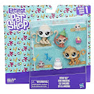 Littlest Pet Shop Series 1 Family Pack Mimsy Monkeyford (#1-140) Pet