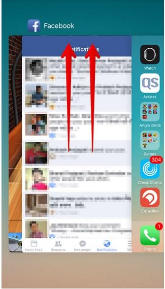 facebook app draining battery iphone 4s