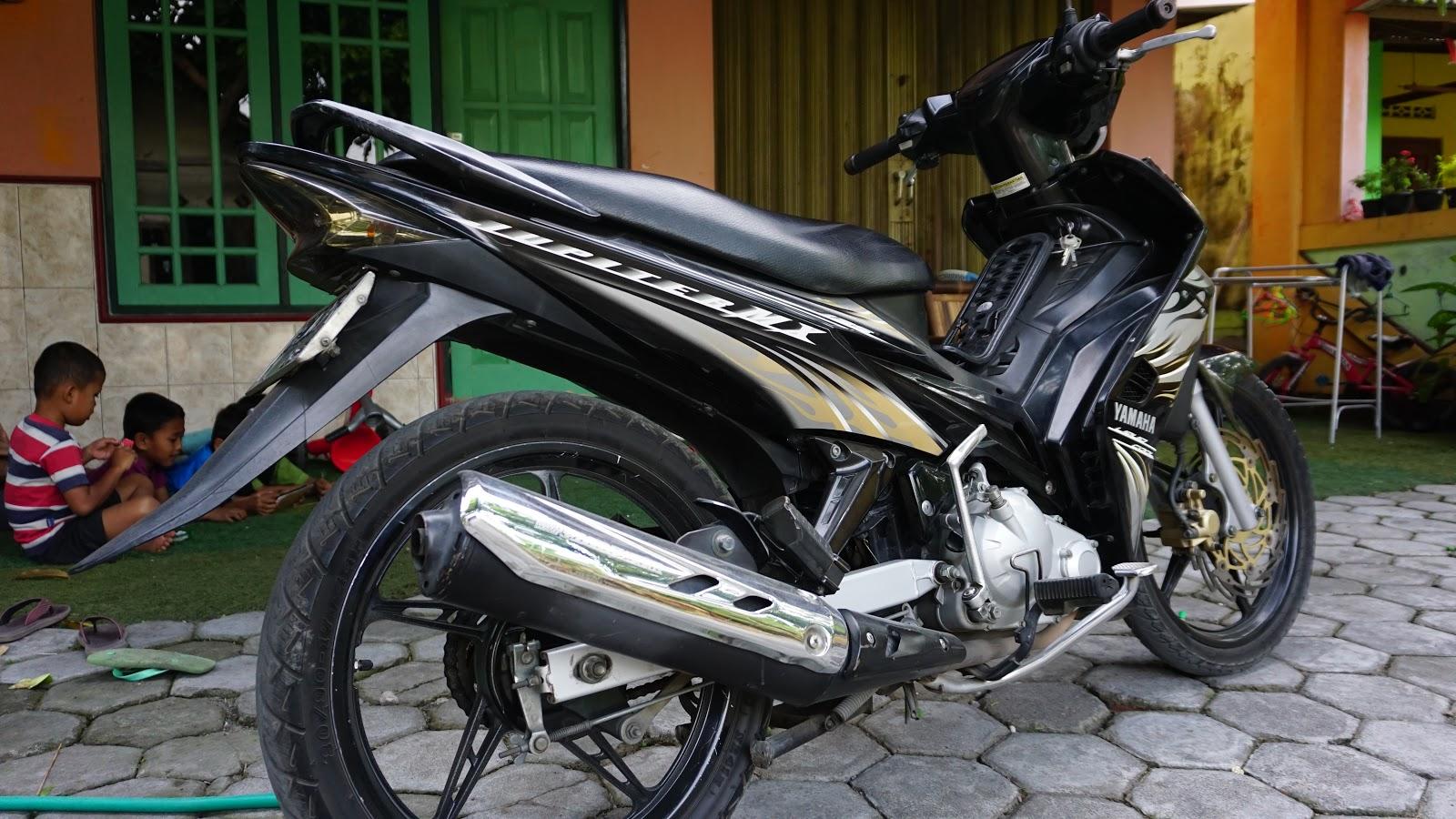 Motor yamaha jupiter mx 135 cc tahun 2020 plat AB Bantul