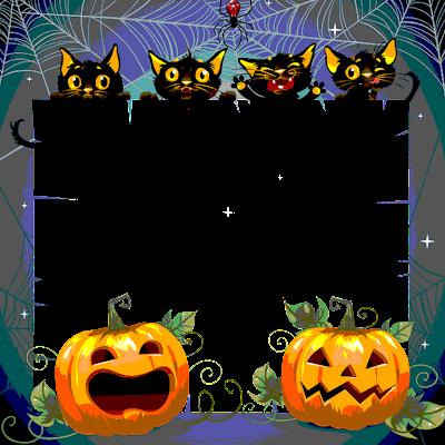 montaje de  halloween