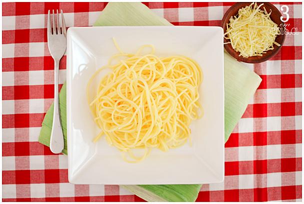como preparar macarrão