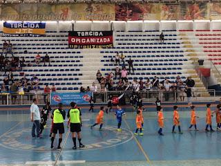 Estadual Futsal Sub-7 tem rodada no Pedrão em Teresópolis