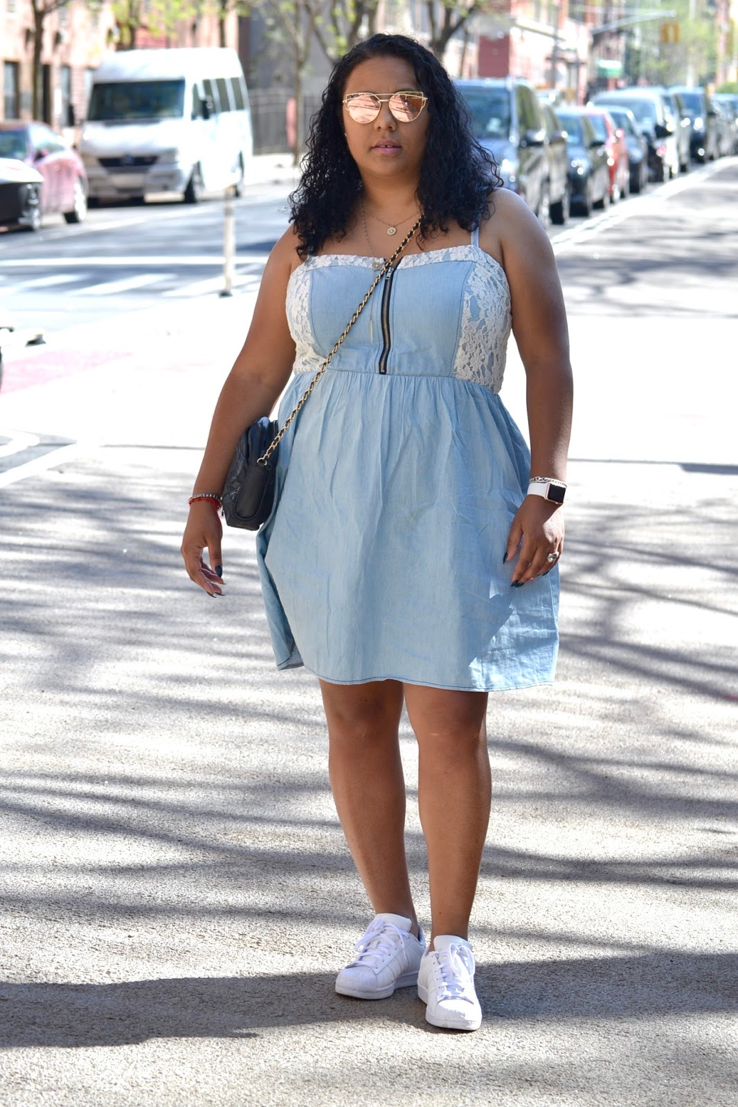 Hip Girl Style In My Jean Dress