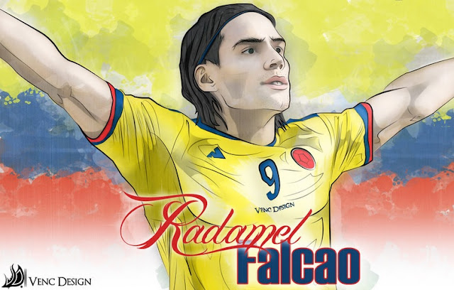Radamel Falcao Copa America Wallpaper