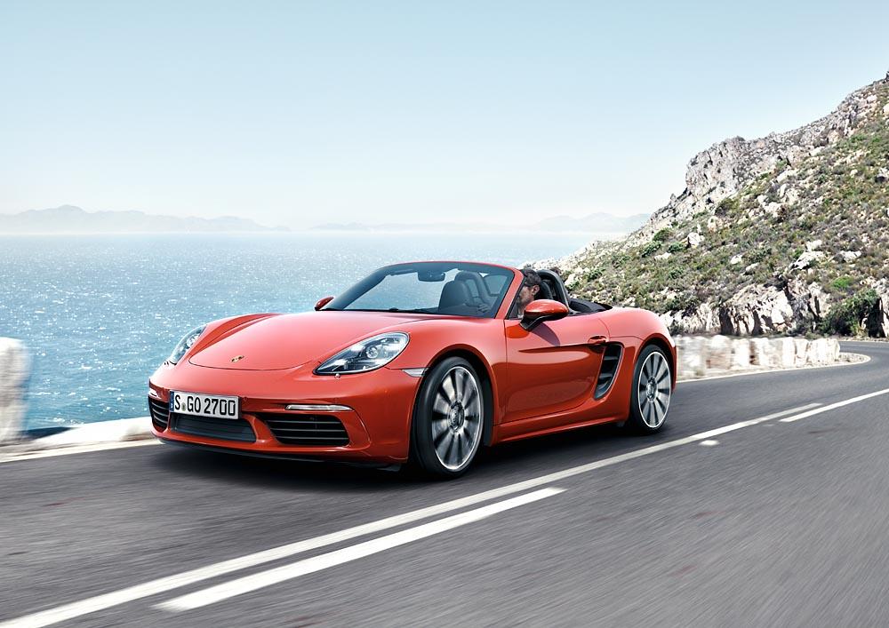 2 Με δίλιτρο turbo μπόξερ 300 ίππων η Porsche 718 Boxster Porsche, Porsche 718 Boxster, Porsche 718 Boxster S, Porsche Boxster, Roadster, videos