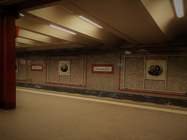 One of the main subway stations