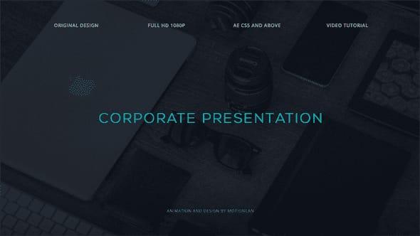 قالب افتر افكت برومو عرض منتجات الشركات من صور وفيديوهات