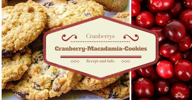 Rezpet mit Cranberrys